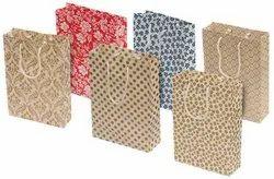 Handmade Paper Bags, Packaging Type: Half Round