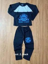 Printed Assorted Boys Pyjama Set