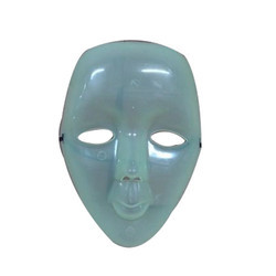 Full Face Plastic Party Mask