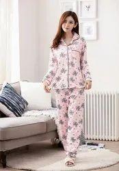 Women''s Cotton Printed Night Suit