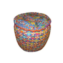 Indian Handmade Cotton Poufs
