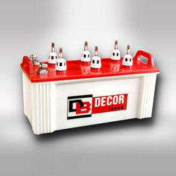 Decor Flat Plate Inverter Battery, Voltage: 12 V
