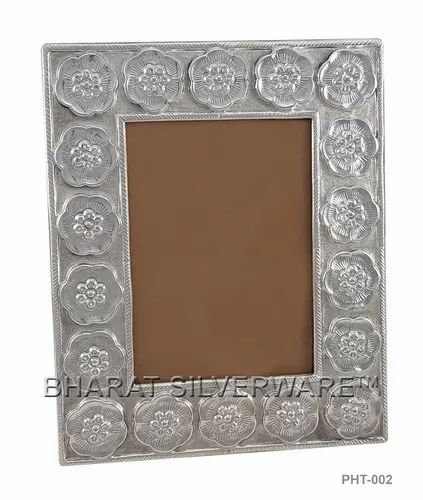 Pure Silver Elegant Photo Frame