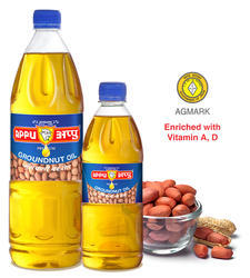 Appu Cold Pressed Groundnut Oil, Packaging Size: 100 mL