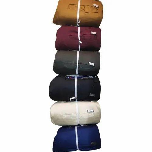 Regular Fit Mens Casual Cotton Pants, Size: 28-30