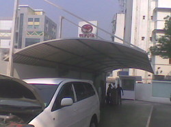 Parking Wall Awning