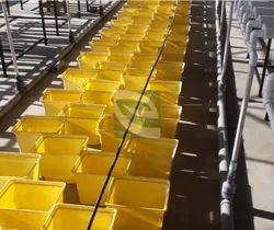 Hydroponic Terrace Vegetable Setup