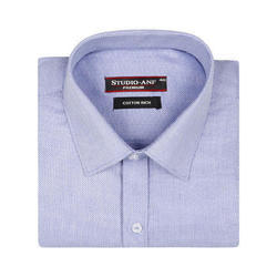 Sky Blue Color Full Sleeves Formal Shirt
