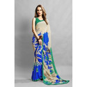 Digital Printed Chiffon Saree