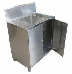 Hand Wash Sink Cabinet