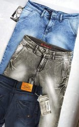 Blue, Black Denim Mens Jeans
