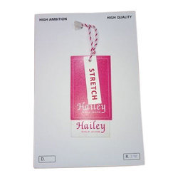 Paper Garments Hang Tag