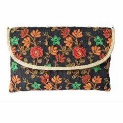 Ladies Designer Embroidered Clutch