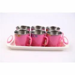 6 Piece Tea Cup Set