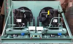 Gi Powder Coated 50 Hz Outdoor Condensing Unit, 7.5 Kw
