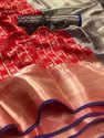 SILVER ZARI KANCHIPURAM SAREE