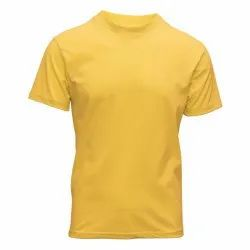 Sublimation Polycotton  Round Neck T Shirt