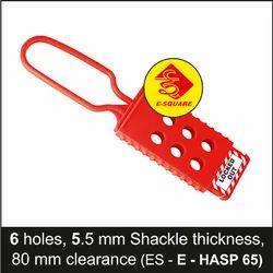 De Electric Lockout Hasp - 6 Hole