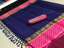 Party Wear Pure Cotton Silk Saree