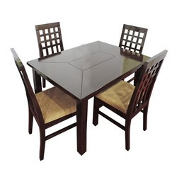 Wooden Dining Table Set In Kolkata West Bengal Wooden