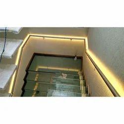 Glass Duplex Staircase