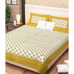 Printed Double Sleepwell Vibrance Cotton Bed Sheet Set