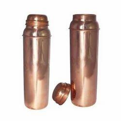 Copper Plain Thermos Bottle