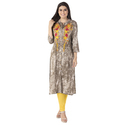 Best Cotton Rayon Printed Kurti