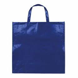 Blue PP Laminated Shopping Bag