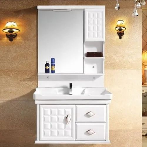 Wall Mounted Pvc Bathroom Vanity Cabinet Nrittolall Dutt Id 21895521188