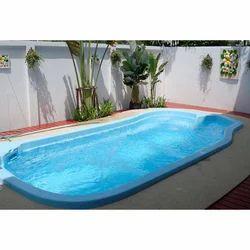 天蓝色室内ABS复合游泳池,尺寸(长X宽):15英尺X 7英尺