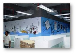 Glass Vinyl Digital Printing Service
