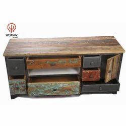 Living Room Wooden TV Unit, For Residential