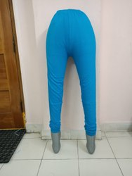 VAAASO CREATION 95%cotton 5% Lycra Full Leggings With 4 Way Stretchable, Size: Free Size