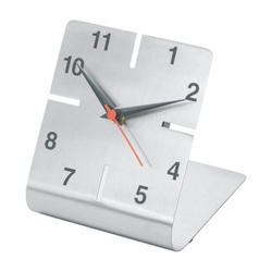 L Shape Table Clock