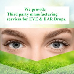Third Party Eye and Ear Drops Manufacturing Services