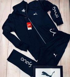Black, Nevy Track Suits
