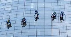 One Time Offline Facade Cleaning Services, In Client Side