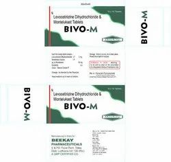 Levocetirizine Dihydroride And Montelukast Tablets