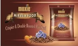Moxie International Natural Roasted Alsi 100gms (home delivery), For Personal, Pack Size: 100 Grams