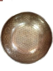 tibetan encarving bowl