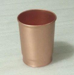 Pure Copper Brown Glass