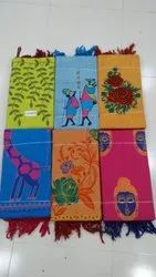 South Handloom Cotton Embroidered Dress Material