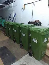 Aristo Plastic Dustbin ,240 litrs