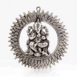 Metal Chakra Ganesha Idol Hanging 314