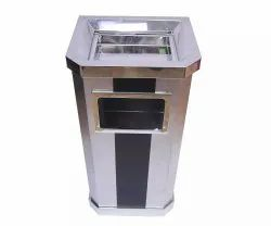 Ashtray SS Dustbin for Office