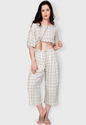 Staycation Luxe Viscose Co-ord Set Triangular Shape Vilv0500b17