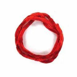 Red Velvet Cord, For Garments, Packaging Type: Roll