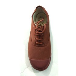 PVC, Canvas Brown PT Shoes