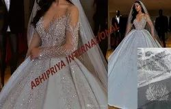 White Net BRIDAL GOWNS